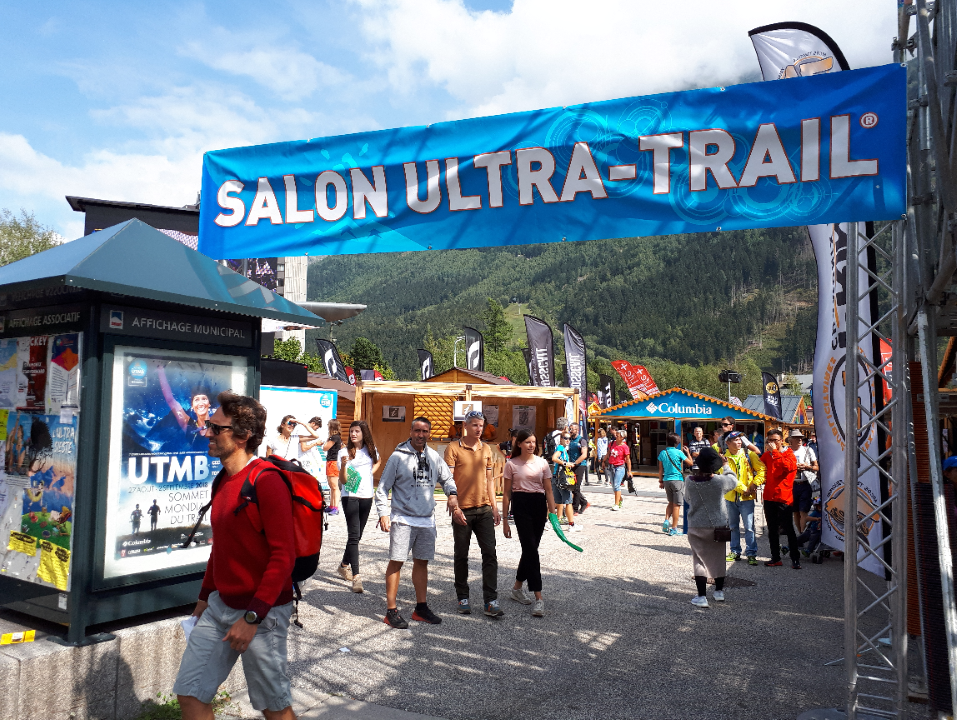 UTMB 2018 salon ultra trail